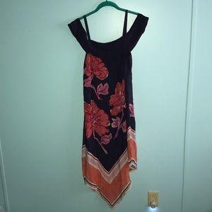 Anthropologie Silk Handkerchief Dress